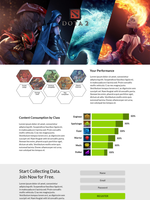 Epic Data Logo, Branding and UI Design