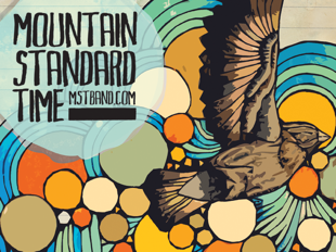 Mountain Standard Time Tour Poster Design
