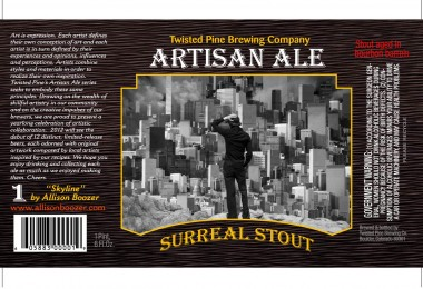 "Twisted Pine's Artisan Ales – ""Surreal Stout"""